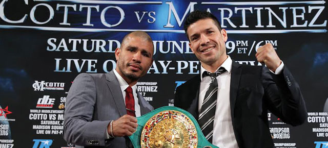 Viajá a Nueva York a ver a Maravilla Martínez vs. Miguel Cotto!!! Madison Square Garden 7 Junio