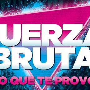 Fuerza Bruta suma funciones en marzo en el Centro Cultural Recoleta!
