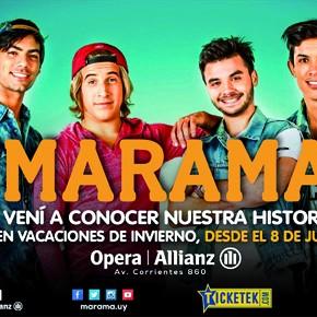 Marama La Historia agrega más funciones en el Teatro Opera en Vacaciones de Invierno!