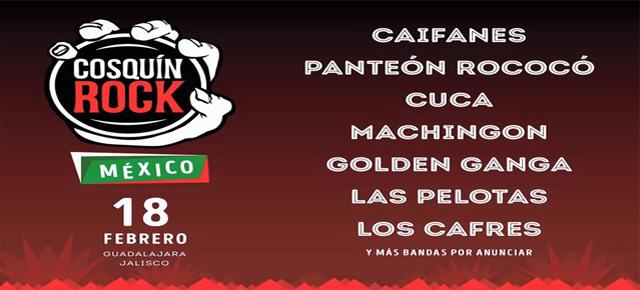 EL FESTIVAL QUE HACE HISTORIA CRUZA LAS FRONTERAS… COSQUIN ROCK LLEGA A MEXICO!!!