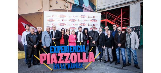 Ayer se presentó Experiencia Piazzolla en el Konex con artistas, autoridades y un breve show