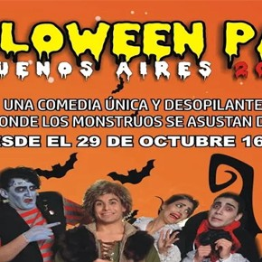Se viene Halloween Park, la única obra de teatro donde los monstruos se asustan de los chicos!!!