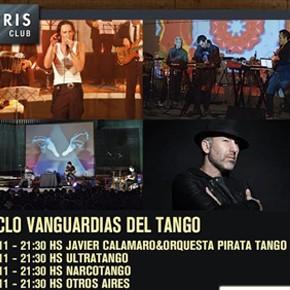 """Javier Calamaro, Narcotango, Otros Aires y Ultratango son """"Vanguardias del Tango"""" en Boris Club - Jueves de noviembre"""