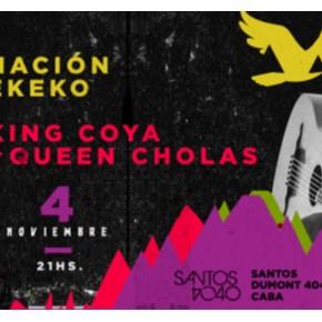 Nación Ekeko + King Coya & Queen Cholas - 4 DE NOVIEMBRE en SANTOS 4040