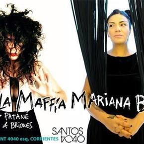 Paula Maffía + Mariana Baraj en SANTOS 4040