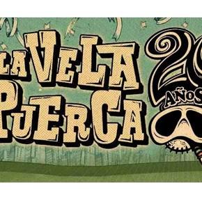 Cierra el Ciclo AGADU con los 20 años de La Vela Puerca!!! Sábado 12 de Noviembre, Atlanta