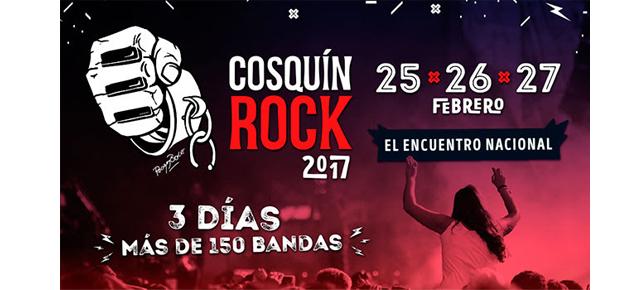 GRILLA CONFIRMADA DEL COSQUÍN ROCK 2017!!!