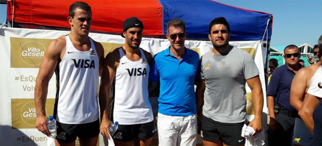 Clínica de Rugby con los Jaguares en Villa Gesell
