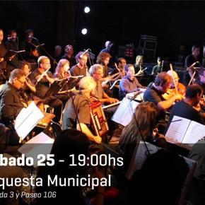La Orquesta Municipal de Villa Gesell en vivo este sábado!!!