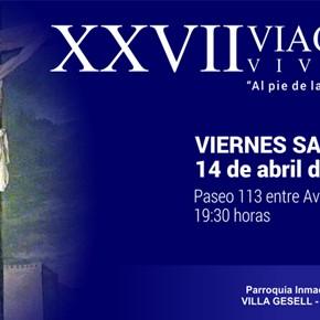 Este Viernes Santo celebramos la 27° Edición del Vía Crucis Viviente!!