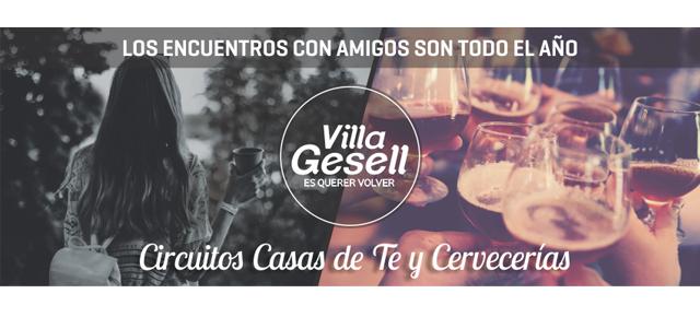 Los encuentros con amigos son todo el año en Villa Gesell!!!