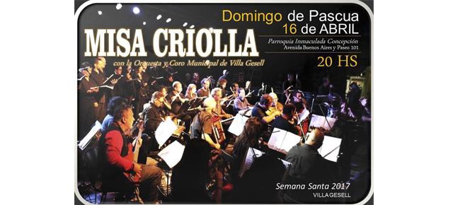 La Orquesta y el Coro Municipal se presentarán en la Parroquia Inmaculada Concepción en Villa Gesell!!
